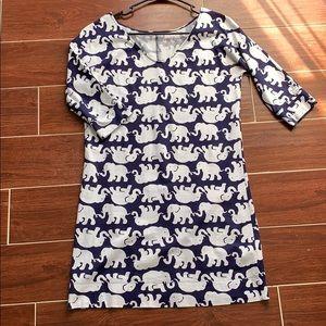 Lily Pulitzer Elephant Dress